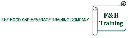 The Food and Beverage Training Company - Welcome Page